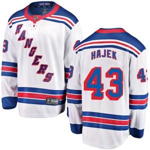... coupon code for fanatics branded libor hajek new york rangers mens  breakaway away jersey white cb71b 1a6ff6c83